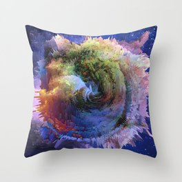 Khaos(Butterfly Effect) Throw Pillow