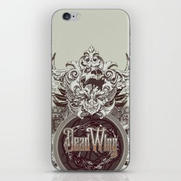 Dead Wing iPhone Skin