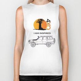 I AM INSPIRED LAND CRUISER 80 Series Biker Tank