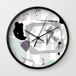 Controlled Chaos Wall Clock