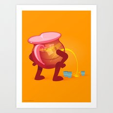 Oh Yeah! Art Print