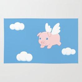 Flying Pig Rug