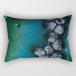 Life On A Leaf II Rectangular Pillow