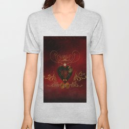 Wonderful heart Unisex V-Neck