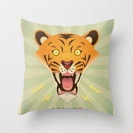 Catastrophe! Throw Pillow