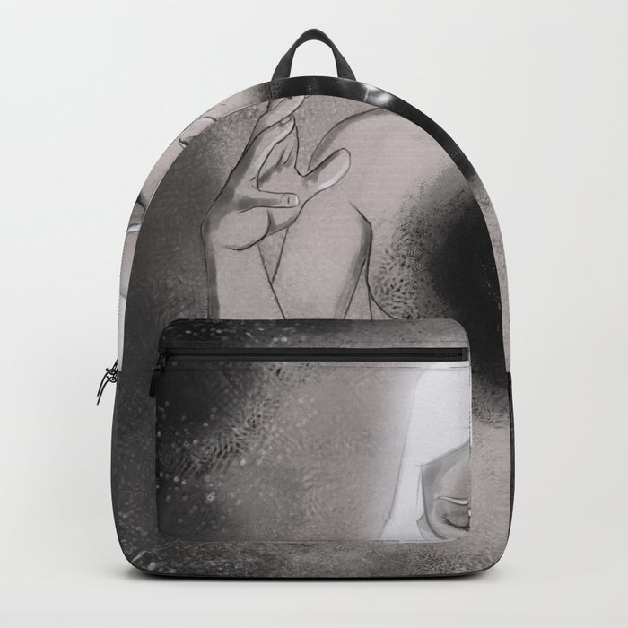 And There Was Light Backpack