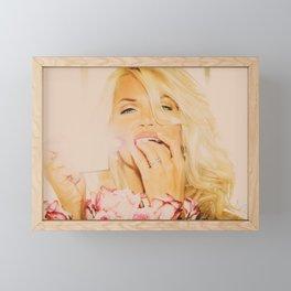 9741 The Spy From Cairo - Supermodel Selena Phillips Framed Mini Art Print