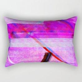 Databending #1 Rectangular Pillow