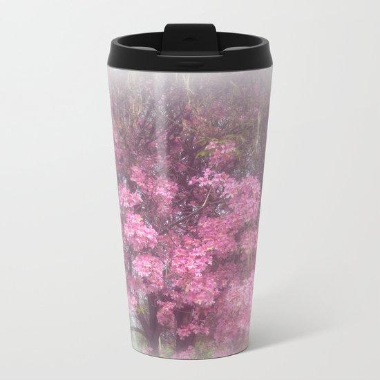 cherry's blossom - 3 Metal Travel Mug