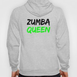 Zumba Queen (Green) Hoody