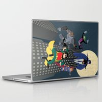 teen titans Laptop & iPad Skins featuring Teen Titans by Fuacka