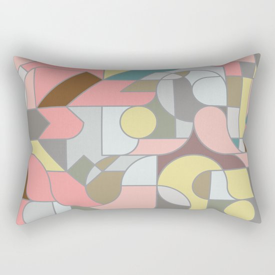 Katzenjammer Rectangular Pillow
