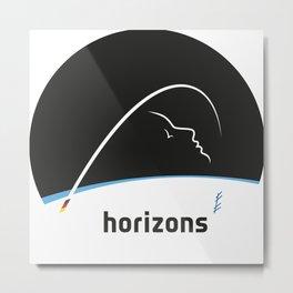 Horizons Mission Logo Metal Print