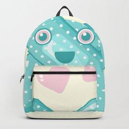 Pastel Happy Plaster Backpack