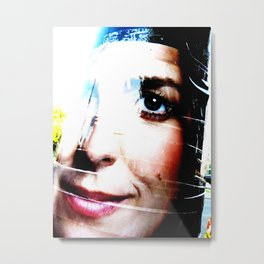 Marianne Thieme Is Watching YOU! 2-2 Metal Print