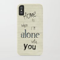 home sweet home iPhone & iPod Cases featuring Home by Brandy Coleman Ford