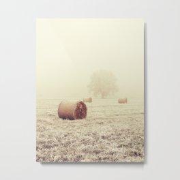 Lost In The Field Metal Print