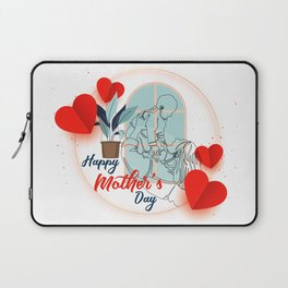 Happy mother's day print mothers day cards happy mothers day card mother day wishes mothers day gift Laptop Sleeve