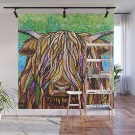Wee Hairy Highlin Coo Wall Mural