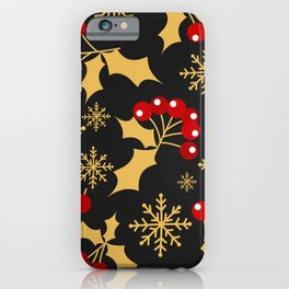 under the mistletoe iPhone Case