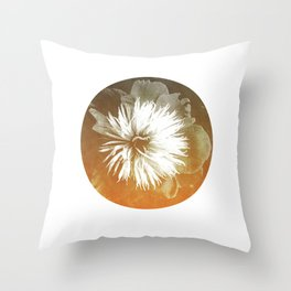 peony III Throw Pillow