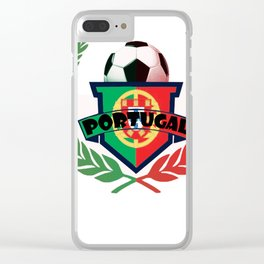 Portugal Clear iPhone Case