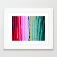 blanket Framed Art Prints featuring Blanket by John Lyman Photos