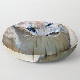 The Mountain Lion Floor Pillow