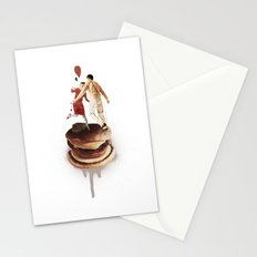 These Burgers Are Crazy II  | Collage Stationery Cards