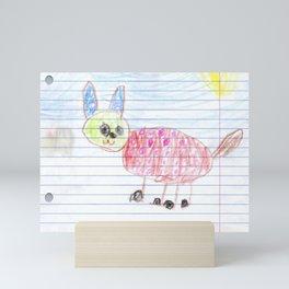 Colorful Deer Mini Art Print