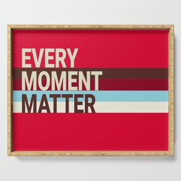 Every Moment Matter Cherry Cream Cupcake Serving Tray