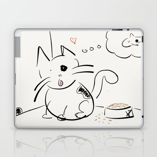 Cat food? Laptop & iPad Skin