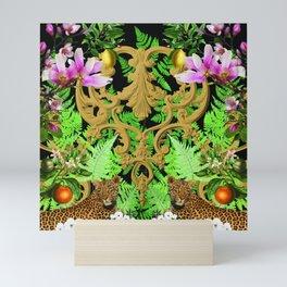 Magnolia Leopard Fantasy Mini Art Print