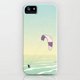 Kitesrfing Fehmarn iPhone Case