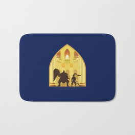 Ornstein and Smough (Dark Souls) Bath Mat