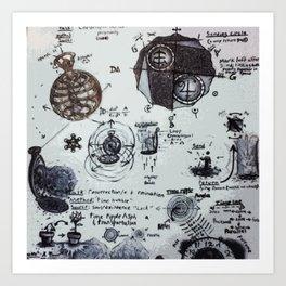 Time Travel Troubleshooting Art Print