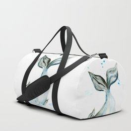 Whale tail Duffle Bag