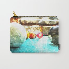Billiards print work 9 Carry-All Pouch