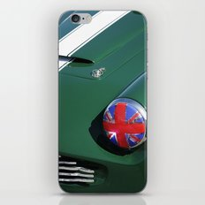 Union Jack Headlight iPhone & iPod Skin
