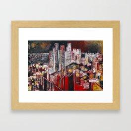 Dreaming of Los Angeles Framed Art Print