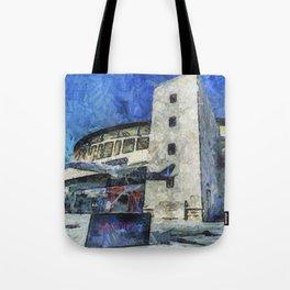 Besiktas Stadium Art Tote Bag