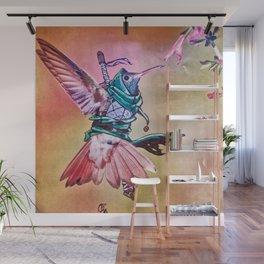 Birds In Armor 2 Wall Mural