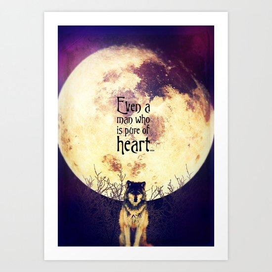 Pure of Heart Art Print