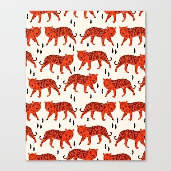 Tiger by Andrea Lauren Design Canvas Print