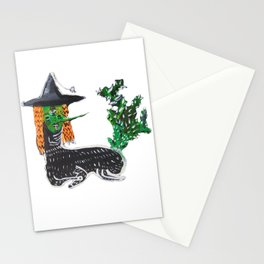 BRUJA DE NOPALES/CACTUS WITCH Stationery Cards