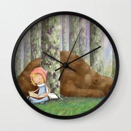 Saddest Bear of All Wall Clock