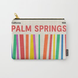 Palm Springs 1930: Retro Mid-Century Edition  Carry-All Pouch