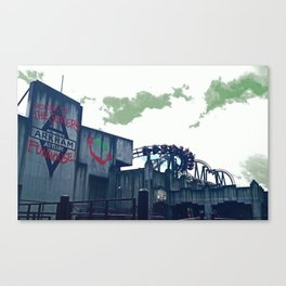 Warner Bros. Movie World #1 (Arkham Assylum) Canvas Print