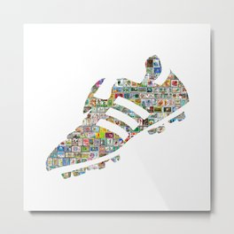 Philately Copa Mundial Soccer Cleats Metal Print