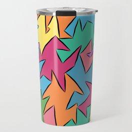tetra-coloured leaves Travel Mug